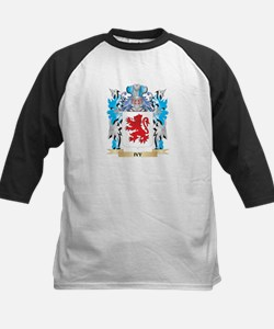 Ivy Coat of Arms - Family Crest Baseball Jersey
