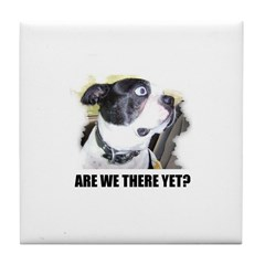 ARE WE THERE YET? Tile Coaster