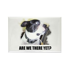 ARE WE THERE YET? Rectangle Magnet (100 pack)