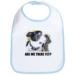ARE WE THERE YET? Bib