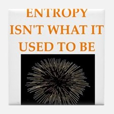 entropy Tile Coaster