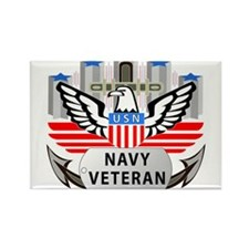 US_NAVY_VETERAN_LOGO Magnets