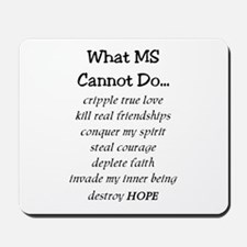What MS Cannot Do Mousepad