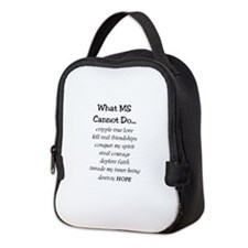What MS Cannot Do Neoprene Lunch Bag