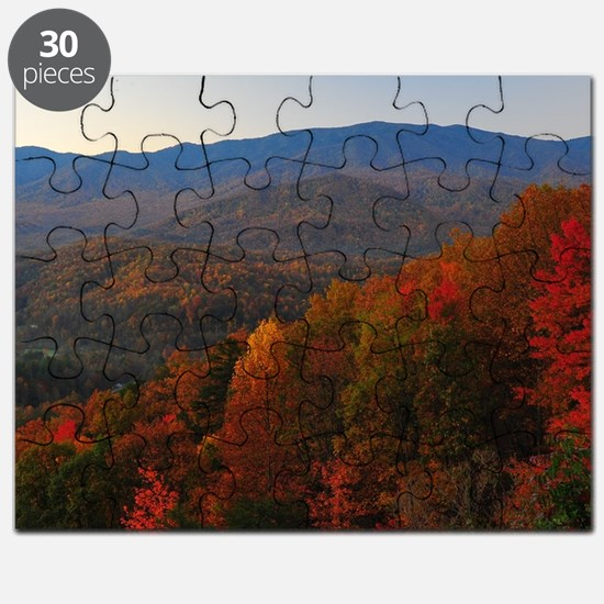 Smoky Mountain Colors Puzzle