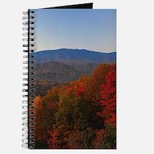 Cute Autumn mountains Journal