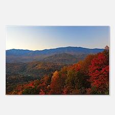 Unique Autumn mountains Postcards (Package of 8)