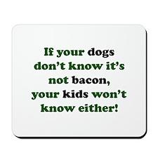 Bacon Dogs Mousepad