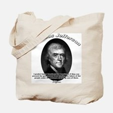 Thomas Jefferson 12 Tote Bag