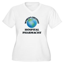 World's Greatest Hospital Pharmacist Plus Size T-S