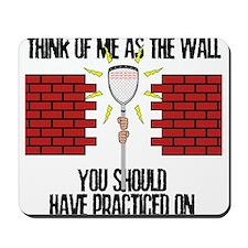Lacrosse Goalie Wall Mousepad