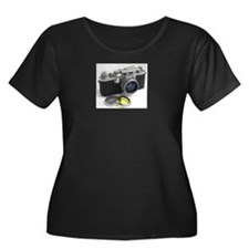Vintage Leica Camera Plus Size T-Shirt