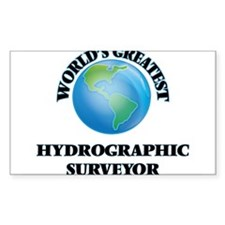 World's Greatest Hydrographic Surveyor Decal
