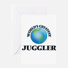 World's Greatest Juggler Greeting Cards