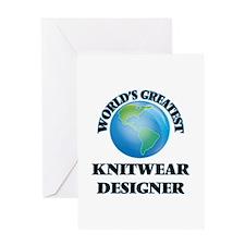 World's Greatest Knitwear Designer Greeting Cards