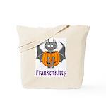 FrankenKitty Trick or Treat Tote Bag