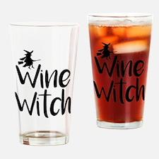 Wine Witch Drinking Glass