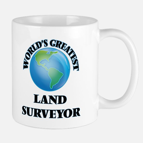 World's Greatest Land Surveyor Mugs