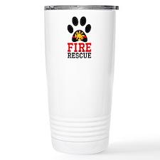 Fire and Rescue Dog Travel Mug