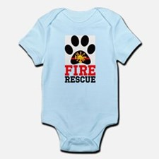 Fire and Rescue Dog Body Suit