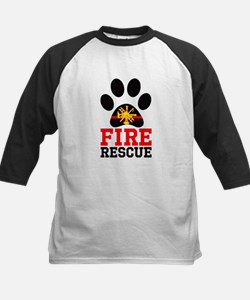 Fire and Rescue Dog Baseball Jersey
