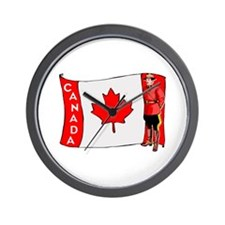 ...Canadian Mountie... Wall Clock