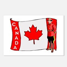 ...Canadian Mountie... Postcards (Package of 8)