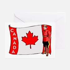 ...Canadian Mountie... Note Cards (Package of