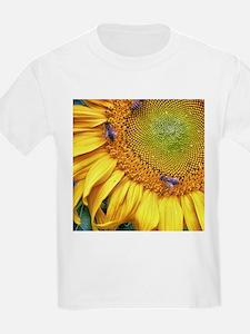 Bees on Sunflower T-Shirt