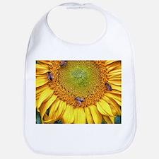 Bees on Sunflower Bib