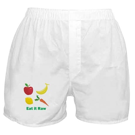 Eat it Raw Boxer Shorts