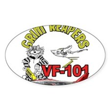 VF-101 Grim Reapers Rectangle Decal
