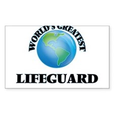 World's Greatest Lifeguard Decal
