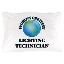 Cute Lighting technician Pillow Case