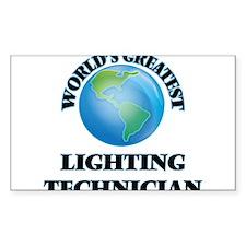 World's Greatest Lighting Technician Decal