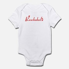 Rawkaholic in Red Infant Bodysuit