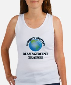World's Greatest Management Trainee Tank Top