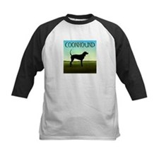 Coonhound In A Field Tee