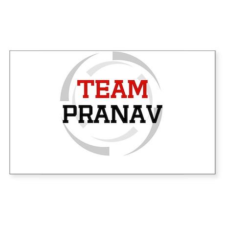 Pranav Rectangle Sticker