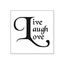 Live, Laugh, Love Sticker