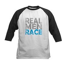 REAL MEN RACE BLUE Baseball Jersey