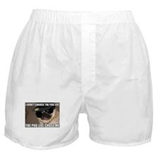 Cute Pug Boxer Shorts