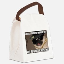 Cool Pug Canvas Lunch Bag