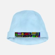 Cute Abstract art baby hat