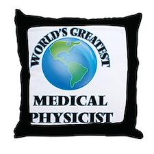 Unique Physicist Throw Pillow