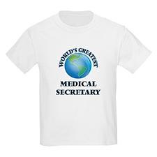 World's Greatest Medical Secretary T-Shirt