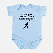 I Shot Put Super Power Body Suit