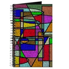 Cute Stained glass Journal