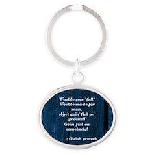 Gullah Proverb Keychains
