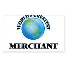World's Greatest Merchant Decal